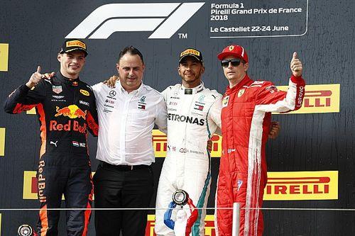 Winnaars en verliezers van de Grand Prix van Frankrijk