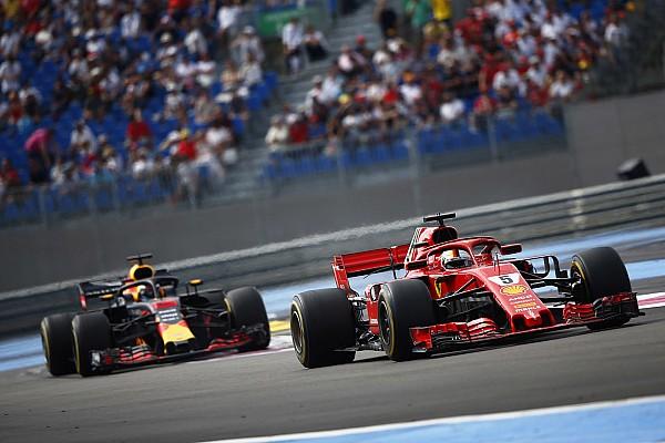 Formula 1 Breaking news Vettel surprised by wind-assisted Paul Ricard comeback