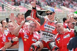Barcelona MotoGP: Lorenzo beats Marquez for first Ducati pole