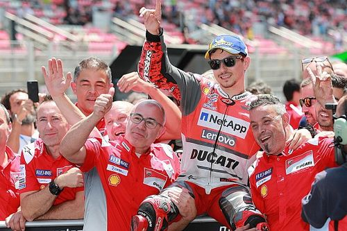 Barcelona MotoGP: Lorenzo beats Marquez for first Ducati pole