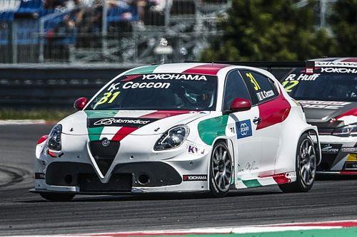 Kevin Ceccon debutta nel TCR Italy con l'Alfa Romeo del Team Mulsanne