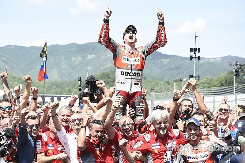 "Lorenzo felt ""like king of the world"" after Ducati breakthrough"