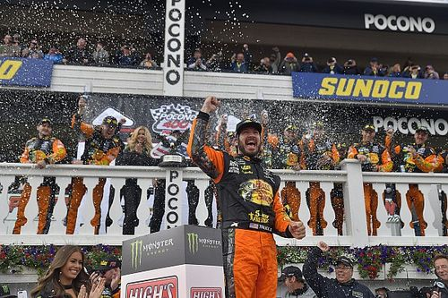 Already a winner, Martin Truex Jr. now becoming a title contender