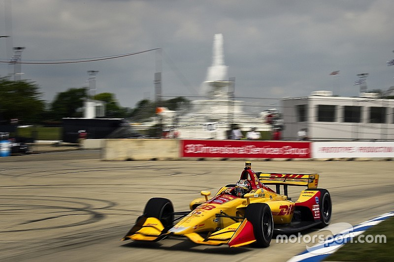 IndyCar's 2019 Chevrolet Detroit Grand Prix – weekend schedule
