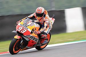 MotoGP Practice report Mugello MotoGP: Marquez tops FP3, Vinales to Q1