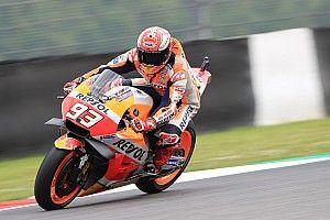 FP3 MotoGP Italia: Marquez ungguli Rossi, Vinales Q1