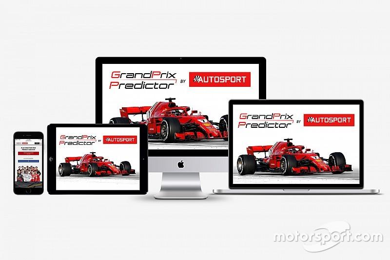 Le jeu Grand Prix Predictor est de retour en 2018