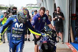 Yamaha admite que Rossi manda más que Viñales en el desarrollo de la moto