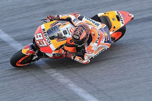 Marquez fokus kombinasi tes motor-mesin