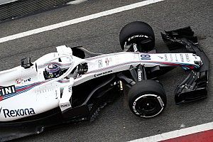 Lance Stroll satisfied with first run in new Williams