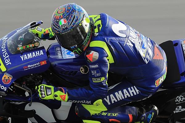 Valentino Rossi y un buen día en Qatar
