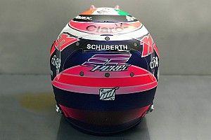 VIDEO: Sergio Pérez muestra su nuevo casco de F1