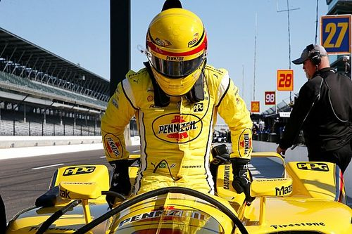 Andretti tops first Indy test session, Castroneves returns