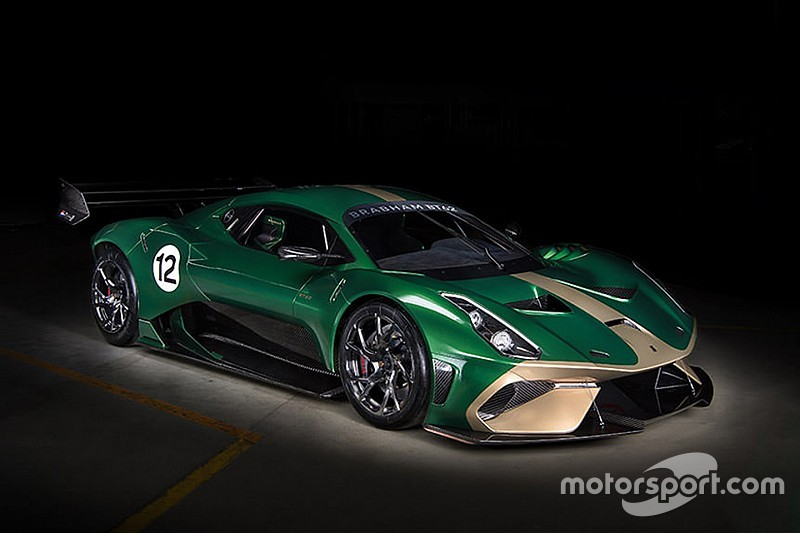 Brabham reveals £1 million track car