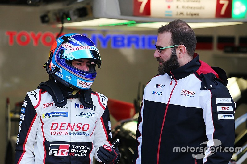 Spa WEC: Alonso tops first practice for Toyota