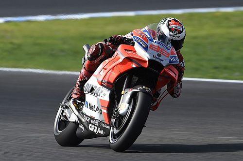 Lorenzo boldogabb a fejlesztett Ducatin