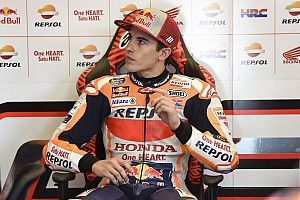 Pernah alami kecelakaan serupa, Marquez: Saya sangat beruntung