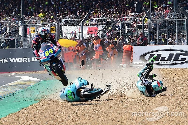 """Kornfeil treated epic Moto3 save """"like motocross training"""""""