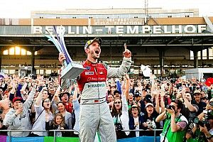 Berlin ePrix: Abt heads Audi 1-2, Vergne extends lead