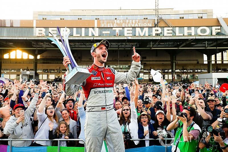 Berlin ePrix: Abt heads Audi 1-2, Vergne extends lead