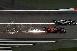 """Horner over opgave Verstappen: """"Race-incident met Hamilton"""""""