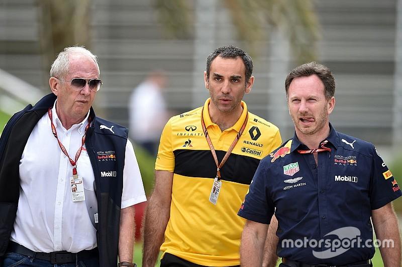 Renault: Red Bull kendi sorunları yüzünden şampiyonluk için yarışamıyor