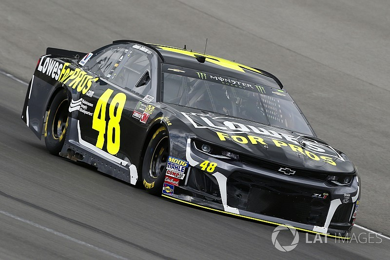 Jimmie Johnson fastest in final Cup practice at Texas