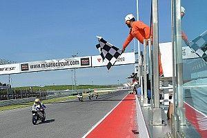 A Misano si accende Spinelli: doppietta del pilota del team Gresini