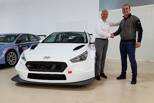 Nicola Baldan difenderà il titolo con la nuova Hyundai di Pit Lane