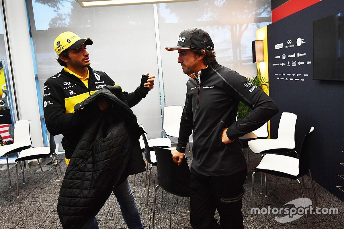 """Sainz: """"Luchar por un titulo con Alonso sería raro, pero..."""""""