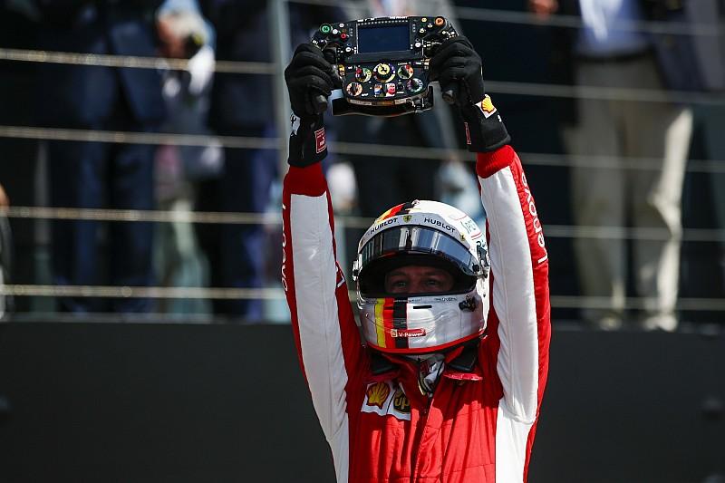 Vettel: Ferrari, Silverstone galibiyetine güvenmemeli