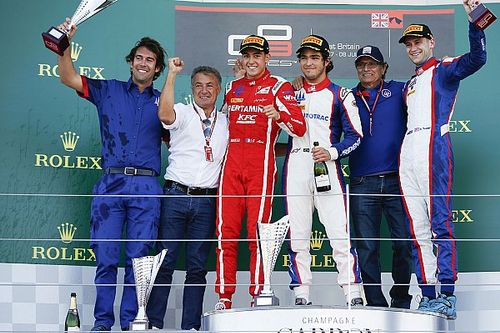 Silverstone GP3: Piquet leads all-Trident podium