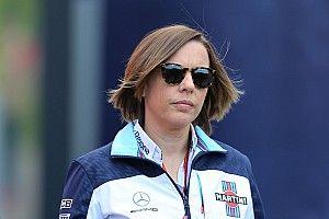"""La crisis en el equipo ha sido un """"golpe enorme"""", acepta Claire Willliams"""