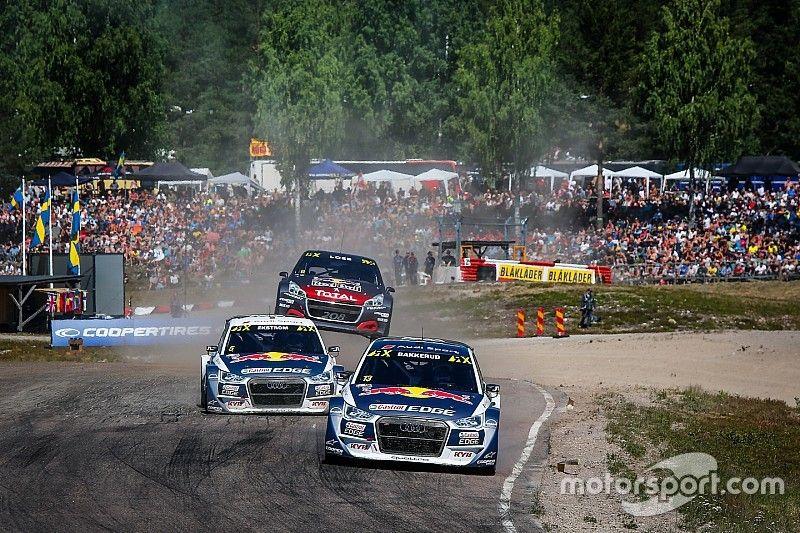 Fünfkampf um Rang zwei: Mattias Ekström schreibt WRX-Titel ab