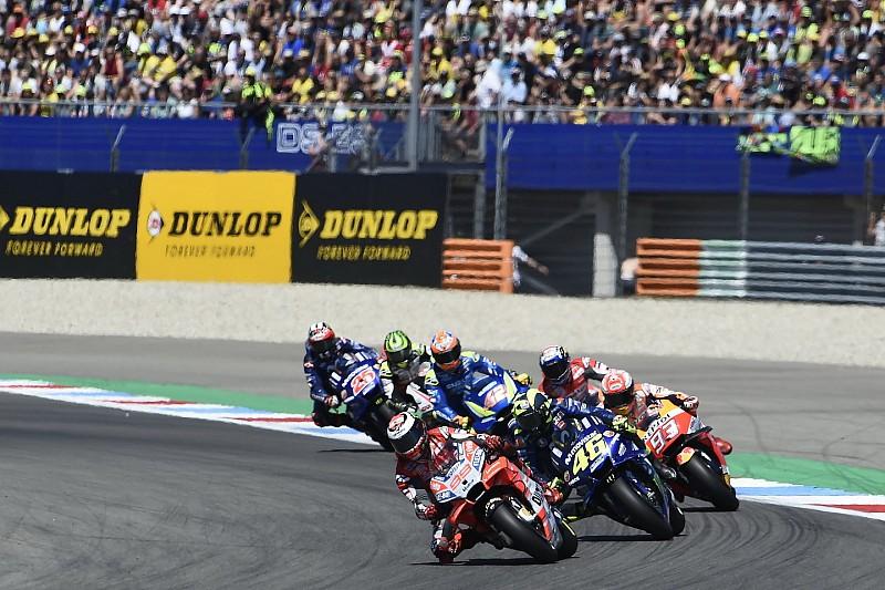 """Lorenzo over touché met Rossi: """"Gelukkig crashte niemand"""""""