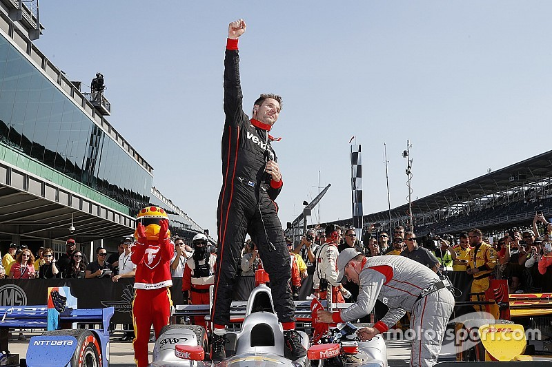 Will Power brilla y gana el GP de Indianápolis
