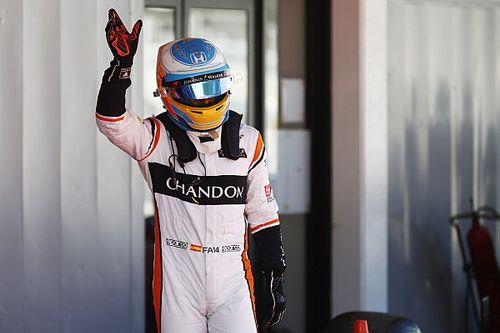 Fernando Alonso: 1. F1-Zielankunft 2017 und direkte Abreise nach Indy