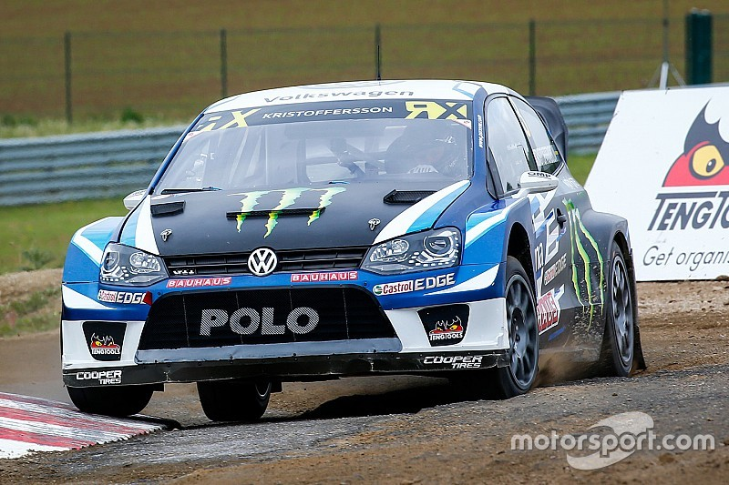 Belgium WRX: Kristoffersson leads overnight, Ekstrom only seventh