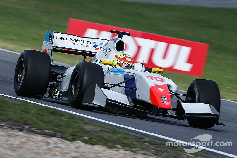 Nurburgring F3.5: Palou takes pole on debut
