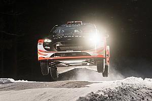 WRC Stage report Ostberg puncaki shakedown Reli Swedia