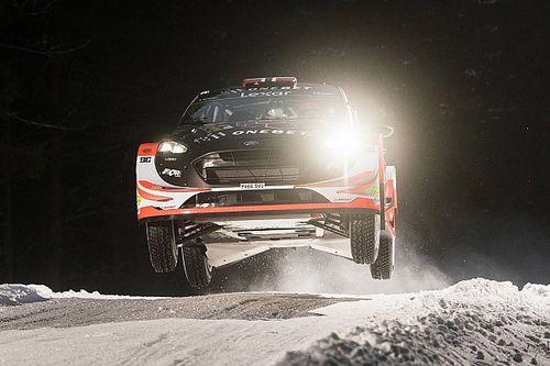 Ostberg tops Rally Sweden shakedown on WRC comeback