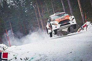 【WRC】ラリースウェーデン参戦の勝田と新井、無事完走を果たす