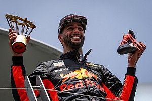 """Ricciardo positief: """"Ik voorzie meer podiumplaatsen in nabije toekomst"""""""