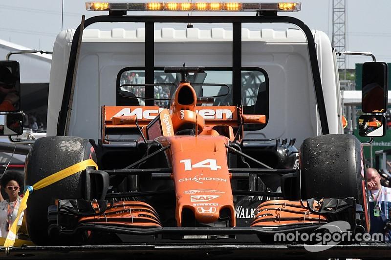 "Latest Honda failure ""absolutely not good enough"" - McLaren"