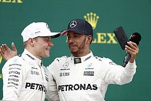 "Hamilton/Bottas cooperation has ""exceeded expectations"" - Wolff"