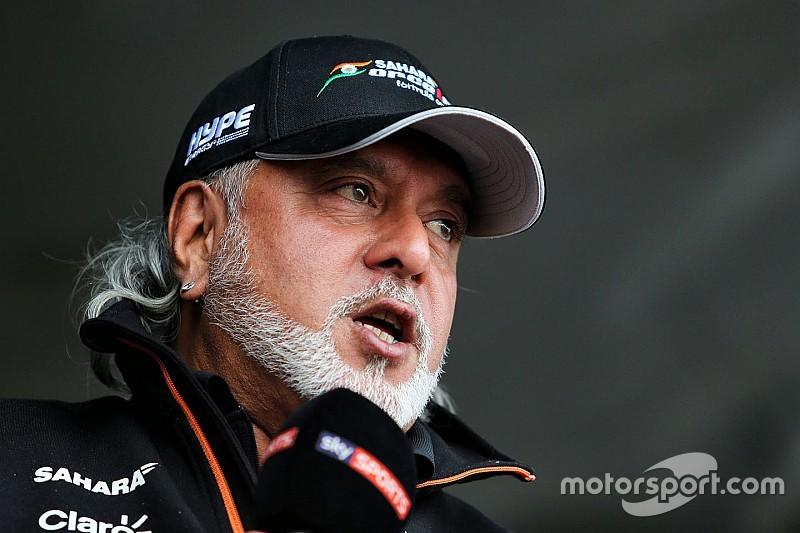 Force India: Mallya non è più direttore del team ma rimane team principal