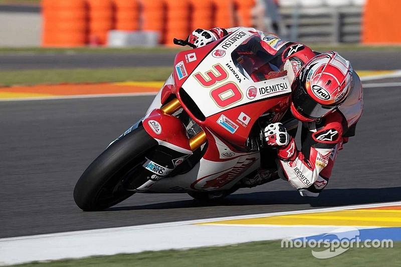 【Moto2】中上貴晶「3番手を記録し、午前中の転倒の埋め合わせができた」:バレンシア初日