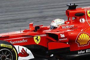 Vettel lideró una segunda sesión en Sepang que acabó antes de tiempo por una rejilla