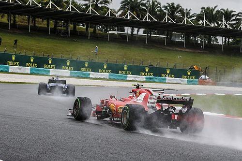 В Ferrari признали высокую скорость Red Bull на мокрой трассе