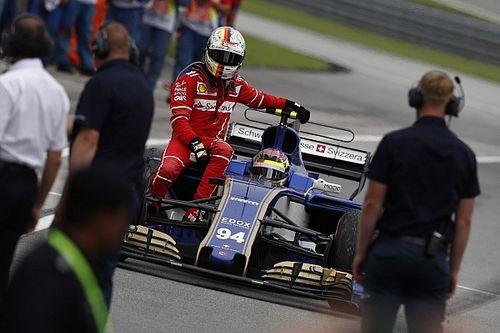 La FIA no castigará el accidente entre Vettel y Stroll
